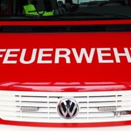 Geburtstagskuchen: Feuerwehrauto