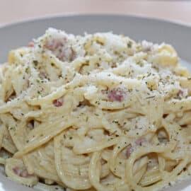 Spaghetti Carbonara wie vom Italiener