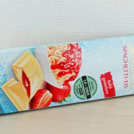 Im Test: Lindt Schokolade à la Spaghetti-Eis